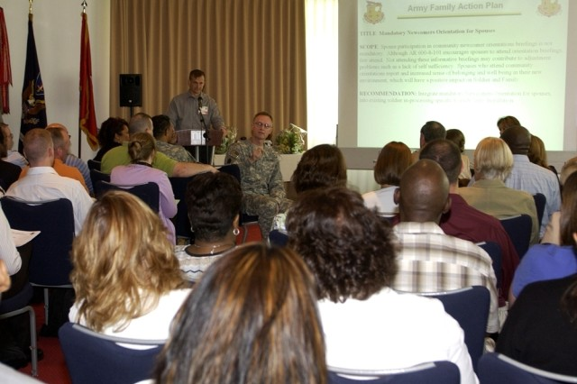Delegates gather in Europe for Army Family Action Plan Conference
