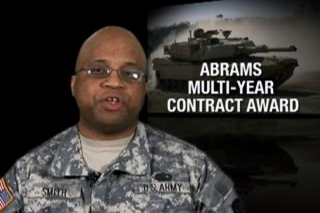 Abrams Multi-Year Contract Award