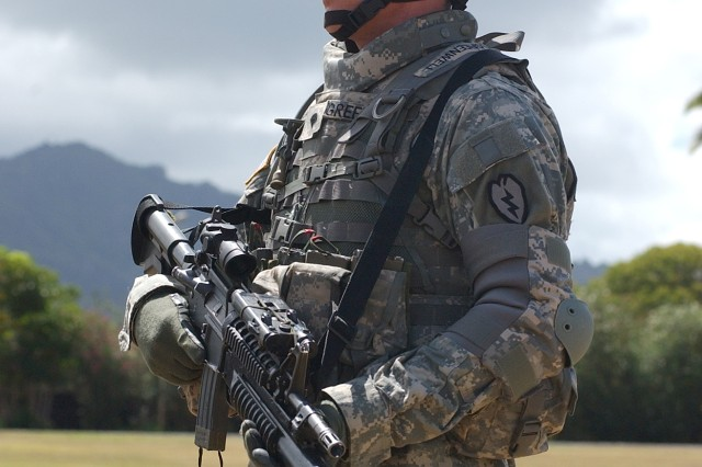 25th Infantry Division Soldier