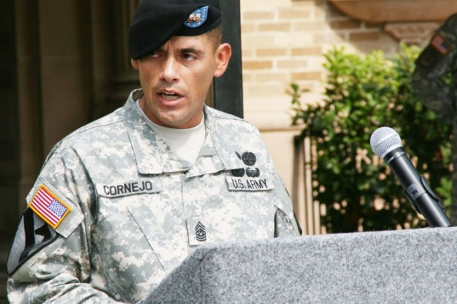 Wounded Warrior Assumes Responsibility of Battalion
