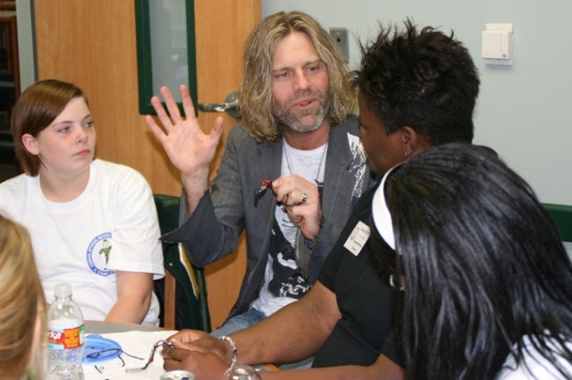 """Big Kenny Alphin, from the country duo Big & Rich, shares his experiences with teens during Camp C.O.P.E. """"I remember years ago thinking, if I could get that record deal, all my worries will be over, but it's a whole new batch,"""" he said. """"It all comes down to how you deal with it on a daily basis."""""""