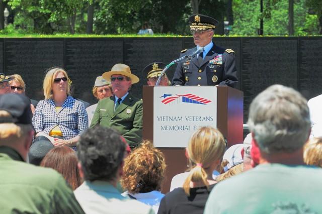 Memorial Day at the Vietnam Veterans Memorial