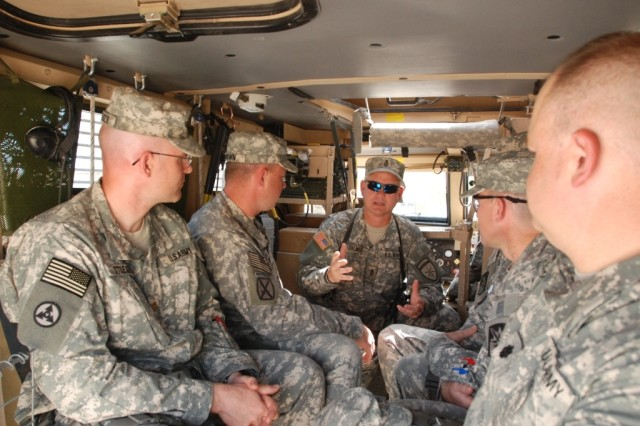 Soldiers Get First Look At MRAP