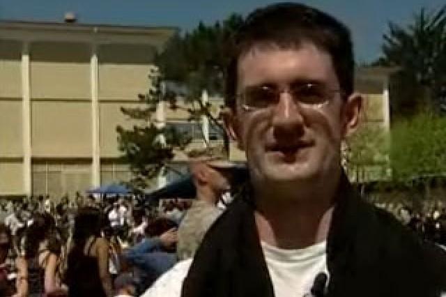 Pfc. Mark Switzer, Arabic Language Student