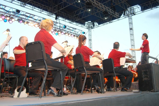 Symphony Entertains Community At Fort Sam