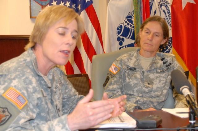 Brig. Gen. Rhonda Cornum, assistant surgeon general for force protection