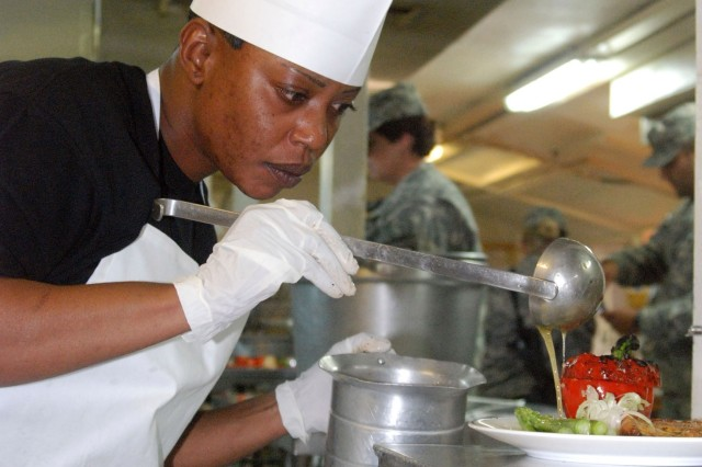 Servicemembers Hold Iron Chef Competition in Afghanistan