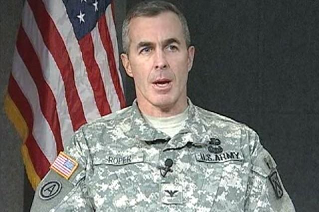 Col. Daniel Roper, Director, Army/Marine Counter Insurgency Center