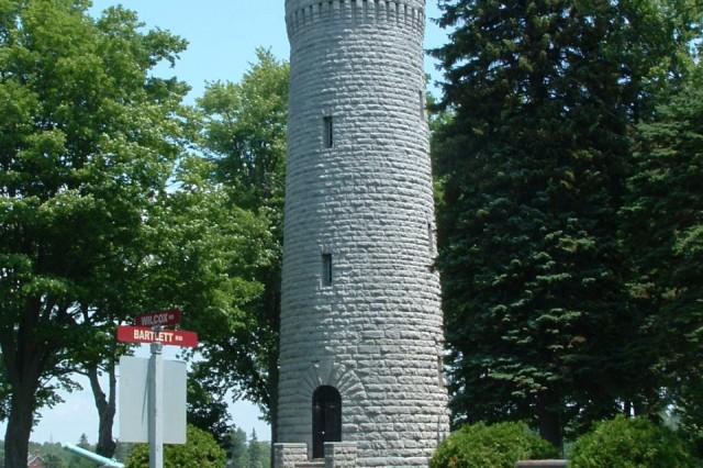 Water tower at Madison Barracks
