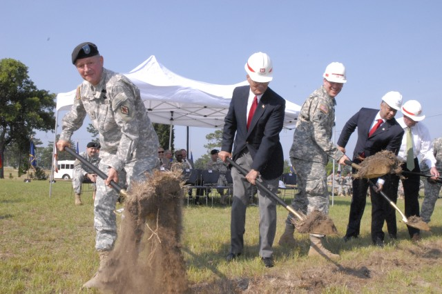 Combined Drill Sergeant School ground breaking at Fort Jackson