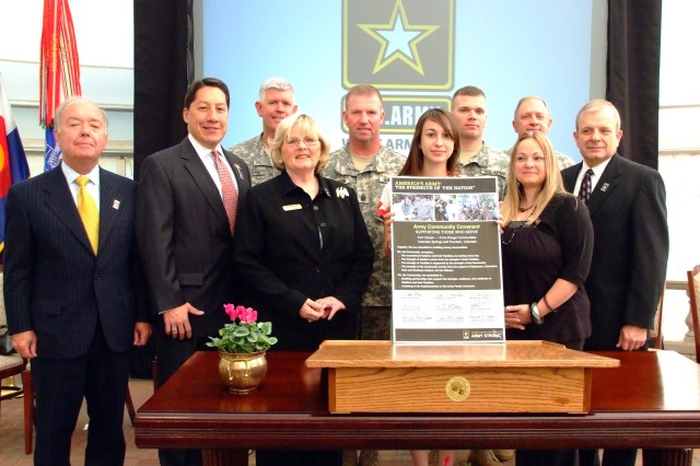 Fort Carson, surrounding communities sign Army Community Covenant