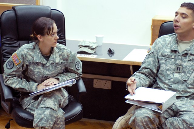 Aviation Task Force conducts pre-command course for officers in combat zone