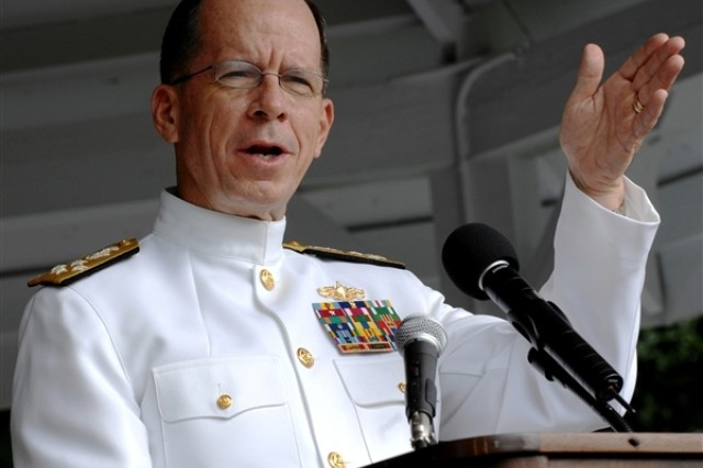 Chairman of the Joint Chiefs of Staff Adm. Mike Mullen, to graduates of the Army War College, June 7, 2008