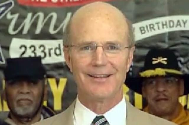 Secretary of the Army Pete Geren