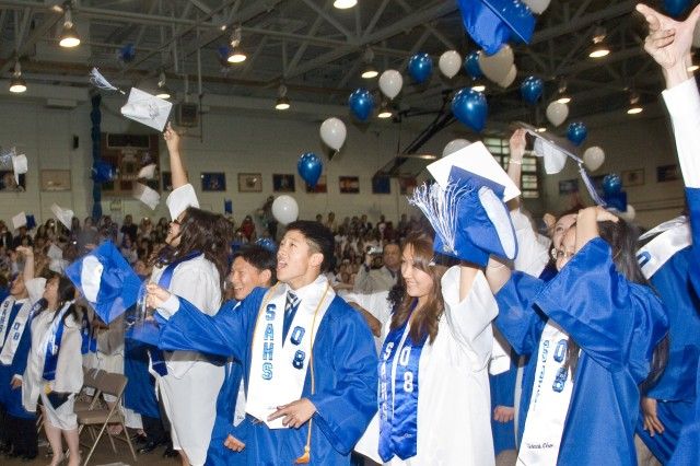 132 seniors graduate from Seoul American High School