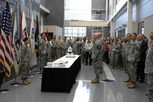 Soldiers from USNORTHCOM and SMDC/ARSTRAT will join together to celebrate the Army's 233 Birthday this Friday, June 13, at 9 a.m., in the breezeway outside of Building 3 on Peterson Air Force Base.