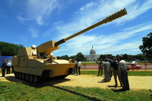 NLOS-C Unveiled on Capitol Hill