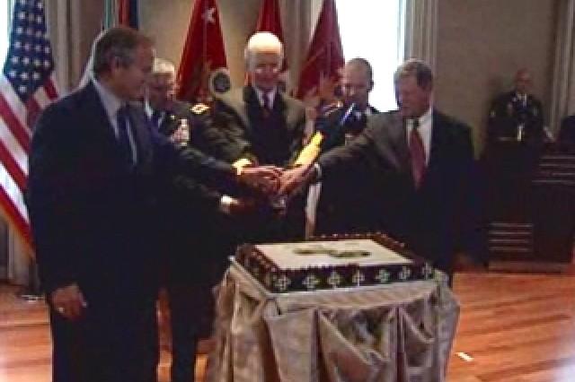 Capitol Hill Cake Cutting