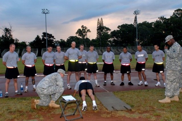 Day 4 - APFT & urban warfare orientation course