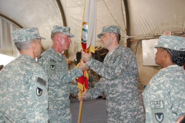 Army Sustainment Command battalion in Afghanistan gets new commander