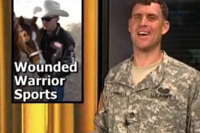 Sgt. Mike O'Brien reports on the Wounded Warriors Sports Program, launched by Spc. Jake Lowery.