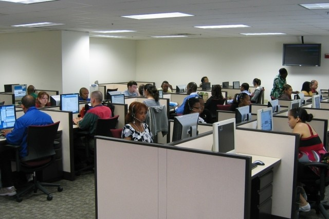 The Army Knowledge Online / Defense Knowledge Online Program Office recently updated its helpdesk by renovating an existing facility and boosting its staff to nearly one hundred trained professionals.