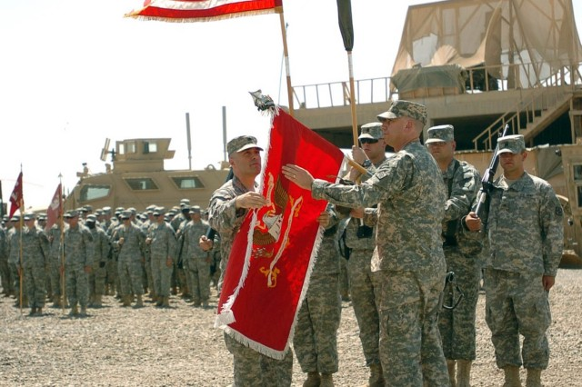 54th Engineers take mission from 479th Engineers