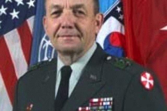Lt. Gen. David P. Valcourt, deputy commander and chief of staff of U.S. Army Training and Doctrine Command