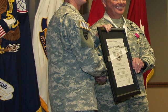 SMDC/ARSTRAT Deputy Commanding General for Operations says farewell