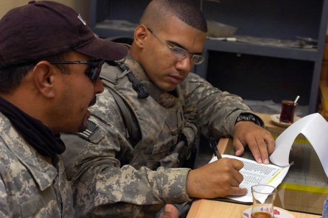 Soldiers Bring Hope with Adult Literacy Program in Iraq
