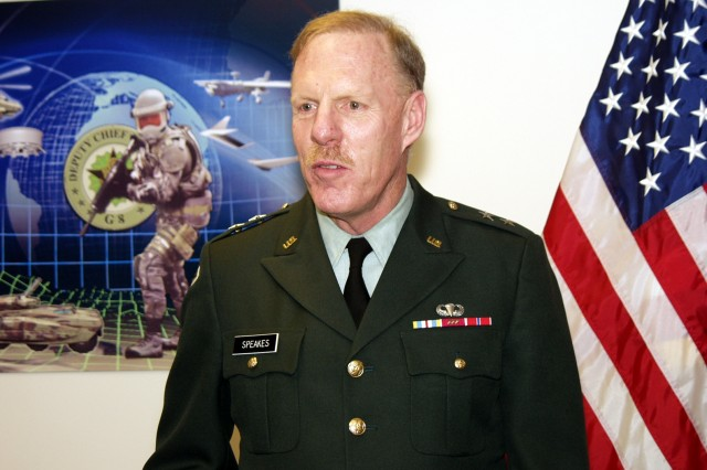 Lt. Gen. Stephen Speakes - US Army G-8
