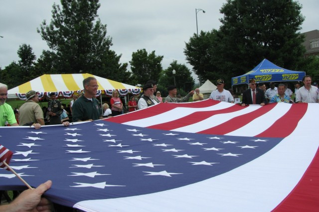 Unveiling Old Glory