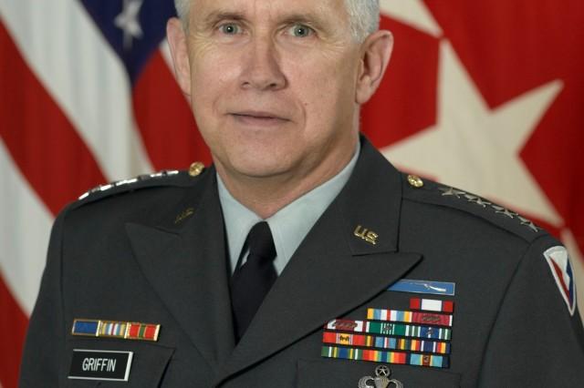 Gen. Benjamin S. Griffin, U.S. Army Materiel Command commanding general