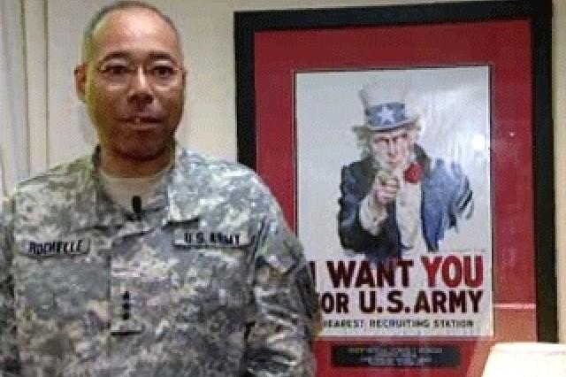 Lt. Gen. Michael Rochelle, Deputy Chief of Staff, G-1.