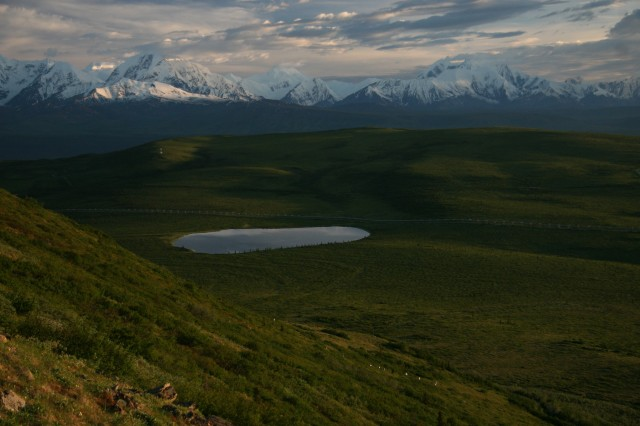 Alaskan Mountain Range