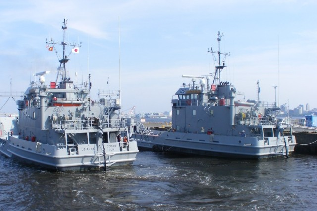 Landing Craft-Utility boats