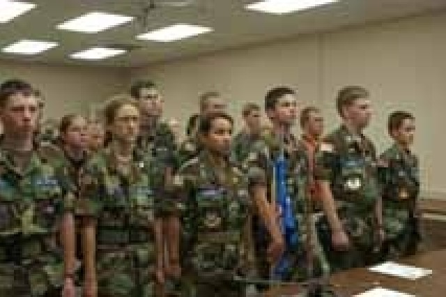 Civil Air Patrol Visit Stewart-Hunter