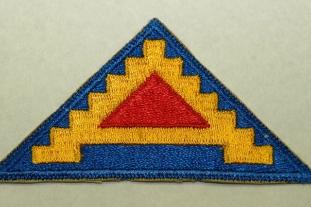 Seventh Army Shoulder Sleeve Insignia, units of the 7th Army assaulted Sicily on July 10, 1943.(