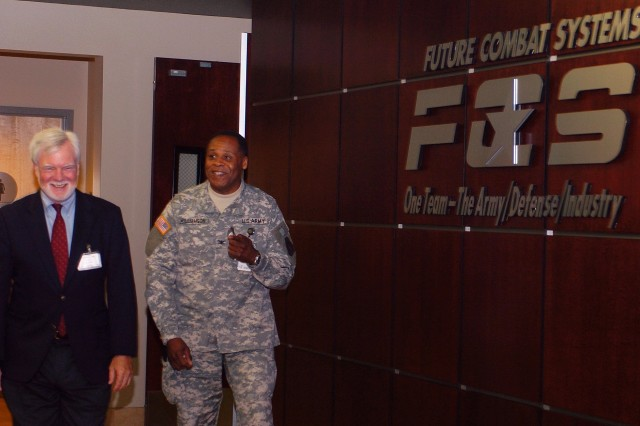 Secretary Ford, SMA visit FCS lab
