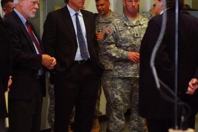 Secretary Ford, SMA visit FCS lab
