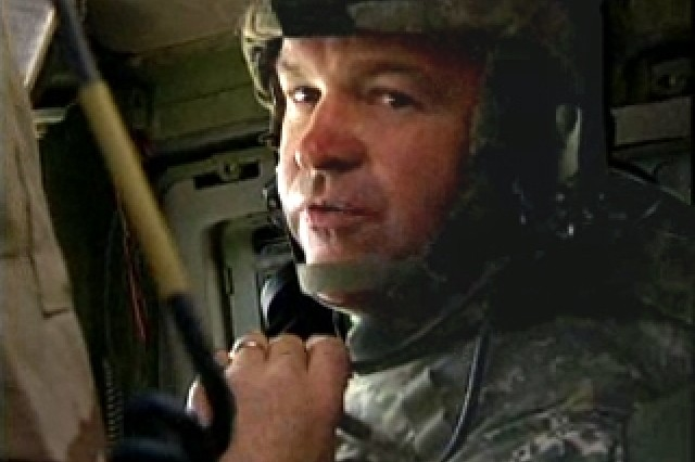 Sgt. First Class Brian Simmons, North Carolina Army National Guard