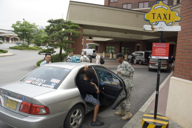 Taxi service doubles at Yongsan