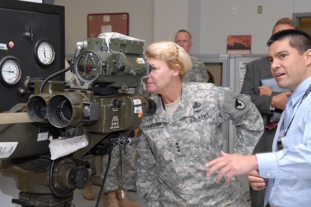 AMC deputy commander visits Tobyhanna