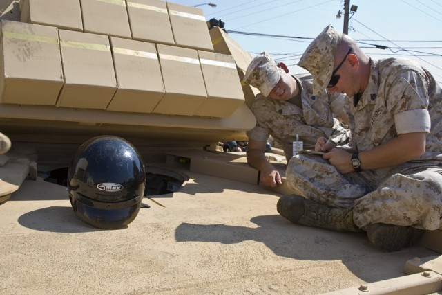 Anniston builds ABV for USMC