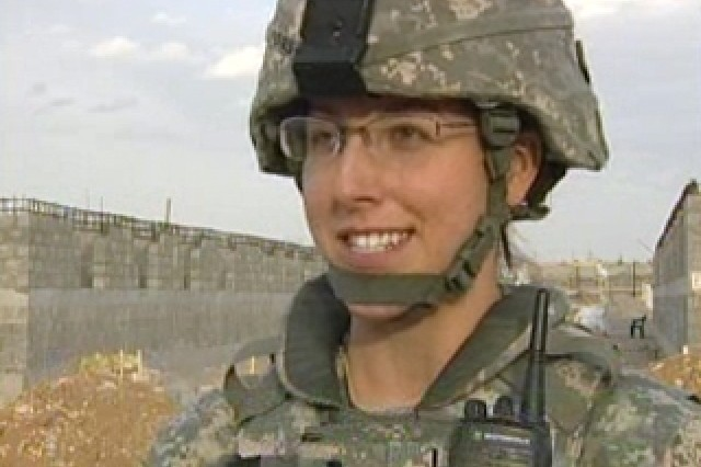 1st Lt. Laura Lyons, Project Engineer, AED.