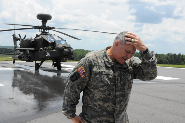Vice Chief takes final flight