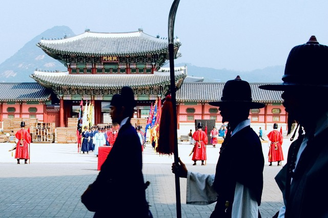 Gyeongbok Palace reenactments bridge Korea's past and present.