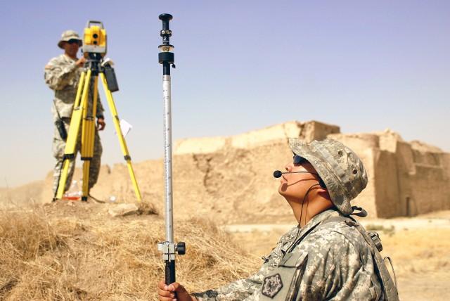Team with U.S. Army Europe's 18th Engineer Brigade surveys Iraq's oldest monastery