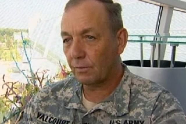 Lt. Gen. David Valcourt, deputy commander of TRADOC.