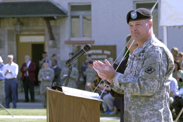 Ceremony inactivating last finance brigade heralds change in finance support structure